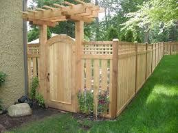 4 Cedar Fence Backyard Gates Cedar Fence Backyard Fences