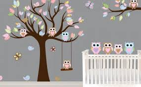 Everything You Need To Create An Owl Themed Nursery Owl Themed Nursery Baby Room Wall Stickers Nursery Wall Decals Girl