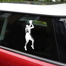 Basketball Vinyl Decal Stickers Car Van Bumper Window Jordan Jumpman