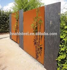 Laser Cut Decorative Metal Garden Bamboo Screen Fence Panel Buy Bamboo Screen Fence Decorative Metal Fence Panels Fence Panel Product On Alibaba Com