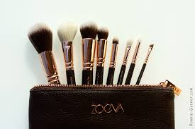 zoeva rose golden luxury set brushes