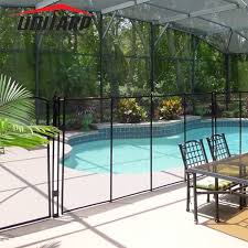 China Unitarp Above Ground Mesh Pool Security Fences Removable Temporary Swimming Pool Fence China Temporary Swimming Pool Fence And Safe Temporary Swimming Pool Fence Diy Price