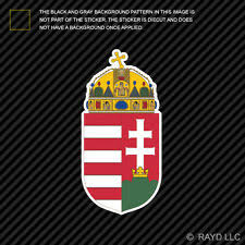 Hungarian Bumper Sticker Hungary Flag H Coat Of Arms For Sale Online Ebay