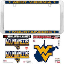 West Virginia University Car Accessories Hitch Covers West Virginia Mountaineers Auto Decals Www Shopwvu Com