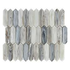 Victoria Picket Glass Mosaic 11 X 12 100654565 Floor And Decor