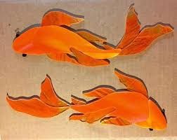 erfly precut koi fish stained glass