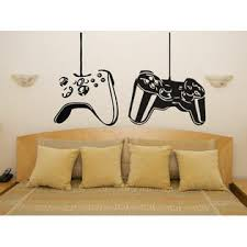 Juststickit Xbox Ps Playstation Set Controllers Gamepad Pad Bedroom Decal Wall Art Sticker