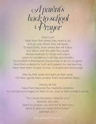 back to school prayer for kids com