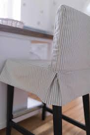 how to sew a parsons chair slipcover