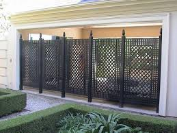 love this outdoor iron privacy screen