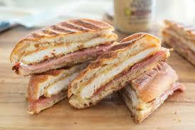 en cordon bleu panini sandwich