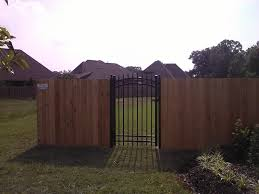 Wood Fencing Privacy Pool Garden Prairieville La Ascension Fence Deck Llc