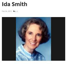 You excommunicated Ida Smith at the age of 76