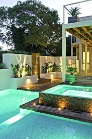 ultra modern pool and patio derby