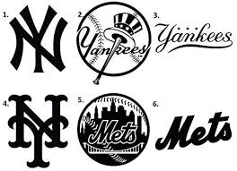 Amazon Com Ericaubird Decal Sticker Ny Yankees Decal Ny Mets Sticker Ny Ports Easy To Attach And Remove Home Kitchen