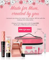 benefit cosmetics uk mum makeup sets