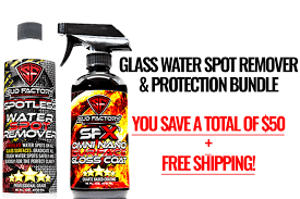 glass water spot removal protection