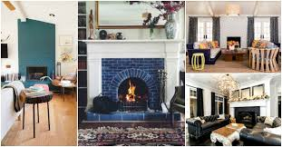 15 painted brick fireplaces that steal