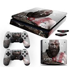 Adesivo Skin Playstation 4 Slim Kratos God Of War 4 Nas Americanas
