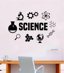 Science Quote Decal Sticker Wall Vinyl Art Home Room Decor Teacher Sch Boop Decals
