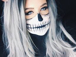 skeleton face paint tutorial for