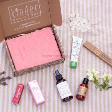 kinder beauty box subscription box mom