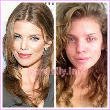 celebrity makeup before and after