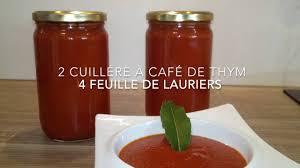 recette sauce tomate maison mise en