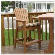 diy rustic bar stools plans
