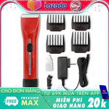 Tông đơ cắt tóc không dây cao cấp Rewell RFCD F35A 2 mức điều chỉnh tốc độ  chuyên dùng cho salon, cắt tóc chuyên nghiệp, gia đình, trẻ em chất liệu  lưỡi