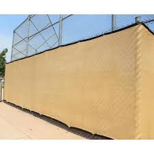 Ncsna 8 Ft X 50 Ft L Beige Tan Hdpe Chain Link Fence Screen In The Chain Link Fence Screens Department At Lowes Com