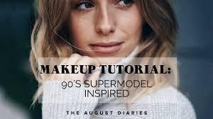 supermodel inspired makeup tutorial