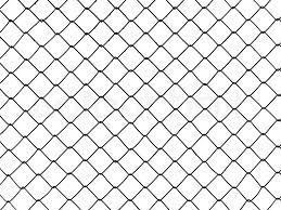 Metal Wire Fence Protection Chainlink Stock Image Colourbox