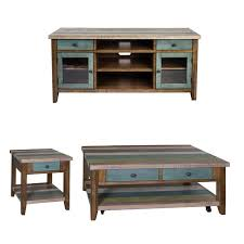 3 piece coffee table set with 60 inch