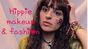 hippie inspired makeup fashion