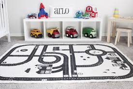 Baby Kids Room Decor Forest Track Floor Carpet Play Game Mats Crawling Blankets