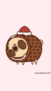 kawaii pug wallpapers top free kawaii