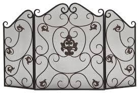 nicolo metal fireplace screen