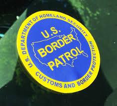 U S Border Patrol Vinyl Window Decal