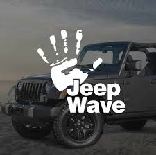 Funny Jeep Wave Hand Vinyl Decal Sticker Car Styling Jeep Talk Car Stickers And Decals For Jeep Wrangler Cherokee Compass Car Sticker Vinyl Decals Stickersdecal Sticker Aliexpress