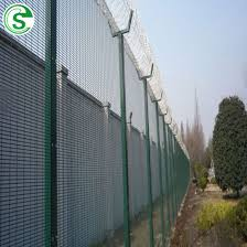 China Direct Factory Welded Security Fence Clear View Fencing With Wholesale Price China Clear View Fence Wholesale China Security Fence