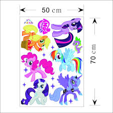 My Little Pony Wall Decal Free Shipping Worldwide