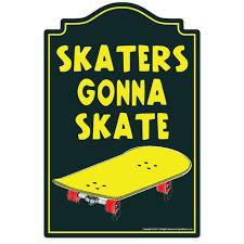 Skaters Gonna Skate 3 Pack Of Vinyl Decal Stickers For Laptop Car Walmart Com Walmart Com
