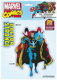 Doctor Strange Car Window Decal Previews Exclusive Toys Collectibles Marvel Comics Collectibles Blue Ox Games