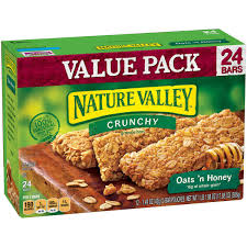 feed your dog nature valley bars