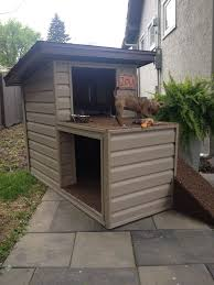2 Story Dog House With A Top Patio And Ramp Access Luxury Dog House Dog House Diy Dog House Plans