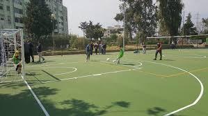 Al Parco Verde di Caivano i ragazzi giocano su campi sportivi e aree gioco  in gomma riciclata