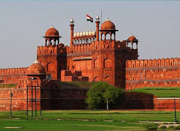 Image result for red fort Delhi""
