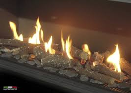 gas fire burners and open fire grates