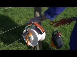 Gallagher Portable Fencing Doing It The Easy Way Youtube